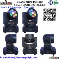 Wholesale Smart Designed 7pcs x 10W Eagle Eye Home Party Disco Lighting from china suppliers
