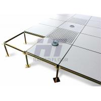 Wholesale Customized Steel Computer Room Flooring , HPL Anti Static Raised Floor from china suppliers