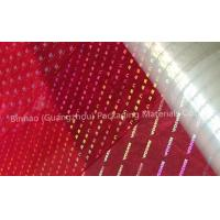 Wholesale Transparent Holographic BOPP Biaxially Oriented Polyester Film High Moisture Barrier from china suppliers