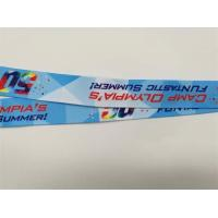 Quality Breakaway Safety Dye Sublimation Lanyards , Custom Printed Lanyards Your Own Logo for sale