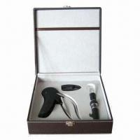 Wholesale New Manual Rabbit Wine Bottle Opener/Corscrews Set from china suppliers