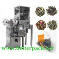 Wholesale Auto pyramid tea packaging machine triangle tea bag machine from china suppliers