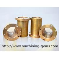 Wholesale Polishing Precision Machined Components Brass / Copper Alloys Sleeve Maintenance - Free from china suppliers