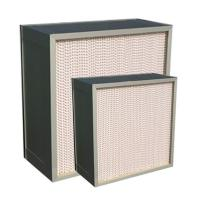 Wholesale Deep Pleat Portable Hepa Air Filters For Terminal Ventilation Systems from china suppliers
