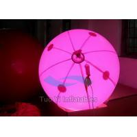 Wholesale Halogen Inflatable Lighting Balloon , Dia. 1M LED Light Balloons from china suppliers