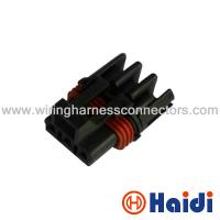Wholesale 3 Way Black Sealed Automotive Pin Connectors Plastic Cable Plug 12040977 from china suppliers