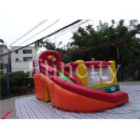 Wholesale 0.55mm PVC Tarpaulin Inflatable Jumping Castle Kids Inflatable Bouncer With Slide from china suppliers