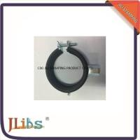 Wholesale EPDM Rubber Galvanized Pipe Clamp Fittings With Single / Double Mount from china suppliers