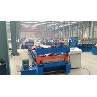 Wholesale Steel Profile Roofing Corrugated Sheet Roll Forming Machine 0.3 - 0.8mm Thickness from china suppliers