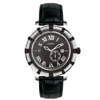 Wholesale Genuine Leather Stainless Steel Automatic Watch , Steel Strap Watch from china suppliers