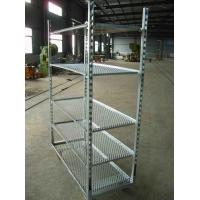 Wholesale Wire Net Danish Trolley Cart,Display Rack Shelf Metal Rack from china suppliers