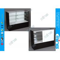 Wholesale Full Vision Retail Store Showcase , Commercial Glass Display Cabinets from china suppliers