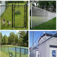 Wholesale PVC coated and galvanized chain link fence(professional manufacturer) from china suppliers
