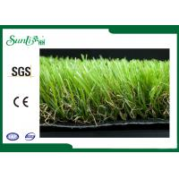 Buy cheap PP Dtex 11000 Yarn Four Color Artificial Grass Rug For Garden Landscaping from wholesalers