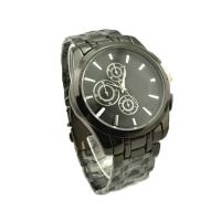 Wholesale  Round Stainless Steel Watch Analog Mens Quartz Wrist Watch , Amazing Waterproof Watch from china suppliers