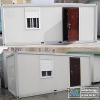 Wholesale Sandwich Panel prefab shipping container homes Prefabricated for dormitory from china suppliers