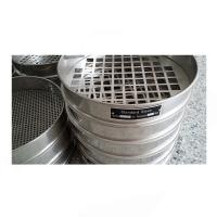Quality Perforated plate standard sieve for sale