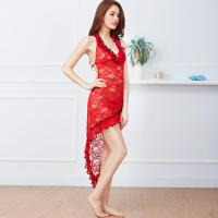 Quality Fashion Women Lace Beautiful Sexy Cupless Night Dress Babydoll Lingerie for sale