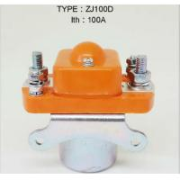 Wholesale Forklift contactor ZJ100D  ITH 100A / forklift electric parts from china suppliers