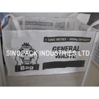 Wholesale 3 cubic meters waste bags for agricultural minerals chemicals and food from china suppliers