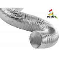 Wholesale High Flexibility Semi Rigid Air Conditioning Aluminum Flexible Ducting from china suppliers