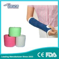 Buy cheap Medical Disposable Orthopedic Fiberglass 5inch Casting Tape from wholesalers
