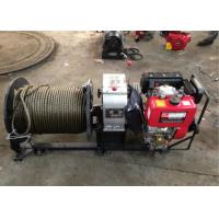 Wholesale 3 Ton Cable Drum Diesel Cable Winch Puller With 200 Meters Wire Rope from china suppliers