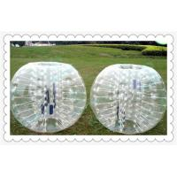 Wholesale 1.5m Clear Sumo Football Inflatable Bumper Ball With High Quality Used In Grass from china suppliers