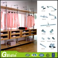 Buy cheap online shopping China supplier aluminum pole system custom made bedroom furniture walk in wardrobe from wholesalers