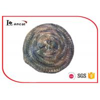 Wholesale Silver piece needle knit beret hat with multi color and silver lurex from china suppliers