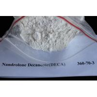 Wholesale Pharmaceutical Steroid Nandrolone Decanoate CAS 360-70-3 White Raw Steroid Powder Source from china suppliers