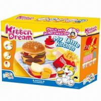 Buy cheap My Little Kitchen Educational Toy, Non-toxic, Kids DIY sets, Develop intelligence, Easy to clean from wholesalers