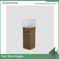 Wholesale Jewelery display showcase tower cabinet glass showroom designs for jewellery stores from china suppliers