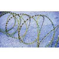 Wholesale airport Razor barbed welded wire mesh fencing panels , ISO9001 approvals from china suppliers
