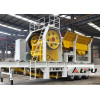Wholesale Simple Operation  Mobile Stone Crusher Machine , Mobile Jaw Crushing Plant in Mining Metallrugy from china suppliers