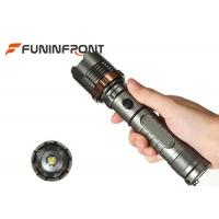 Wholesale 900 LMs Black Light Flashlight With Zoom , Rechargeable Led Flashlight For Self Defense from china suppliers