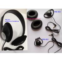 Wholesale Conference stereo headphone lightweight headphone meeting headphone earpiece from china suppliers