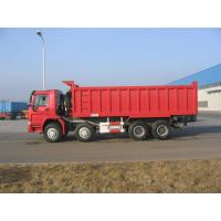 Wholesale HOWO 8*4-336HP-23cbm-Dump tipper truck-one bed from china suppliers