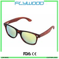 Buy cheap Sunglasses 2016 Wholesale Framed Mirrors Wooden sunglasses with your logo from wholesalers