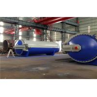 Wholesale Pneumatic Laminated Vulcanizing Autoclave , Pressure In Autoclave By PLC Controller from china suppliers