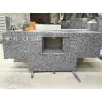Wholesale G439 Big Flower White Granite Kitchen Countertop Vanity Work Top For Kitchen from china suppliers