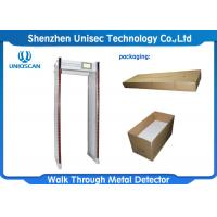 Wholesale Waterproof material for outdoor use, adjustable sensitivity Chinese walk through metal detector door from china suppliers