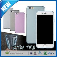 Wholesale 0.3mm Ultra Thin Clear Rubber Soft TPU Glossy iPhone 6 Protective Cases Cover from china suppliers