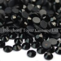 Wholesale world dmc hot fix rhinestone MC crystal stone ss10 3mm jet black from china suppliers
