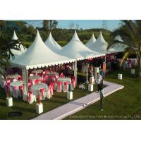Wholesale Easy-Assembly Aluminium Frame Pagoda Tents For Outdoor Wedding Parties With 5m by 5m Size from china suppliers