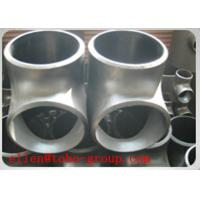 Wholesale TEE ASME B16.9 BEVELED END SCH 10S SS SUPER DUPLEX ASTM A815 GRADE UNS S32750/ UNS S32760 from china suppliers