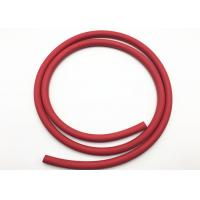 Wholesale Red Fabric Braided Compressed Air Hose / Flexible Rubber Hose B.P 900psi from china suppliers