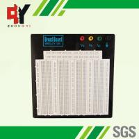 Wholesale Large Size Circuit Board Breadboard Adhesive Solderless Breadboard Round Holes from china suppliers