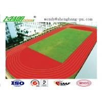 Quality Anti-UV Stadium School Prefabricated Recycled Rubber Flooring For 400 Meter Standard for sale
