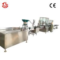 Quality Precision Automatic Aerosol Filling Machine for Mosquito Insect Killer 800-1100 cans/hour for sale